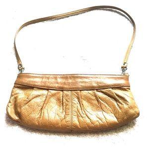 Leather clutch purse aldo